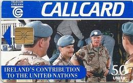Ireland - Eircom - United Nations - 50Units, 10.1995, 50.000ex, Used - Ireland