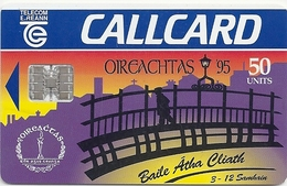 Ireland - Eircom - Oireachtas '95 - 50Units, 10.1995, 50.000ex, Used - Ireland