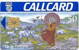 Ireland - Eircom - St. Patrick's Day 1996 - 50Units, 03.1996, 30.000ex, Used - Ireland