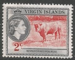 British Virgin Islands. 1956-62 QEII. 2c MH. SG 151 - British Virgin Islands