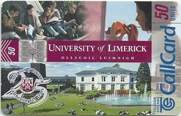 Ireland - Eircom - University Of Limerick - 50Units, 04.1998, 50.000ex, Used - Ireland