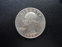 ÉTATS UNIS D'AMÉRIQUE : 1/4 DOLLAR  1985 P   KM A164a     SUP - Federal Issues