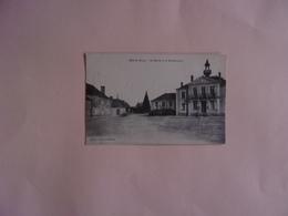 Carte Sépia Cléré (I.&.L.)  .La Mairie Et La Gendarmerie - Cléré-les-Pins