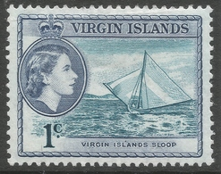 British Virgin Islands. 1964 QEII. 1c MH. SG 178 - British Virgin Islands