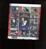 Belgie Blok Feuillet BL128 Biljart Billard Billiards Ceulemans PLAATNUMMER 2  Onder Postprijs Sous Faciale !!! - Blocks & Sheetlets 1962-....