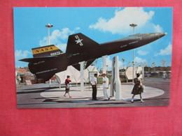 New York World's Fair 1964-65  US Space Park   X 15 Rocket Plane   --ref 2922 - Exhibitions