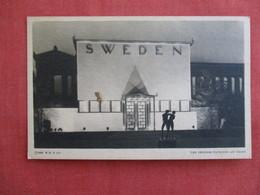 Swedish Pavilion At Night Century Of Progress 1933 --ref 2922 - Exhibitions