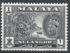 Selangor(Malaysia). 1961-62 Sultan Salahuddin Abdul Aziz. 1c MH. SG 129 - Selangor