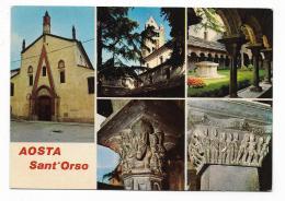 AOSTA - SANT'ORSO - VEDUTE - NV FG - Italia