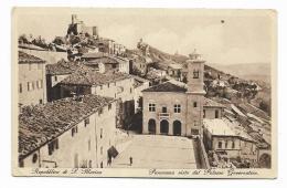 REPUBBLICA DI S.MARINO - PANORAMA VISTO DAL PALAZZO GOVERNATIVO   - NV FP - San Marino