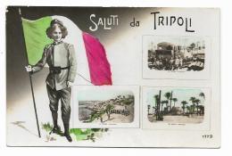 SALUTI DA TRIPOLI -  VEDUTE  1915  FP - Libya