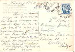 Italy & Marcofilia,  Firenze, Capela Médici, Lisboa Portugal 1966 (56) - 6. 1946-.. Republic