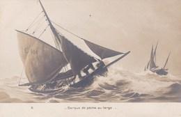BARQUE DE PECHE AU LARGE - Sailing Vessels