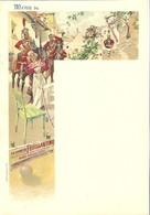 MENU ANCIEN VIERGE Vers 1900*LA FEUILLANTINE-Véritable Liqueur Des Religieux Feuillants-Monastère De Limoges* - Menus