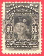 Canada Newfoundland # 74 O F - Henry VII - 1865-1902