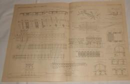 Plan Du Chemin De Fer Métropolitain De Paris. Viaduc D'Austerlitz. 1908 - Public Works
