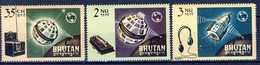+Bhutan 1966. ITU. Michel 69-71. MNH(**) - Bhutan