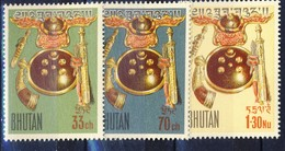 +Bhutan 1963. Colombo. Michel 14-16. MNH(**) - Bhutan