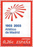 Ref. 124709 * NEW *  - SPAIN . 2003. CENTENARY OF CLUB ATLETICO OF MADRID. CENTENARIO CLUB ATLETICO DE MADRID - 1931-Today: 2nd Rep - ... Juan Carlos I