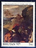 +Bhutan 1989. Painting By Tizian. Michel 1095. MNH(**) - Bhutan