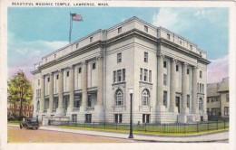 Massachusetts Lawrence Masonic Temple 1940 - Lawrence