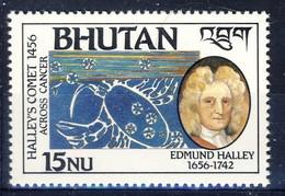 +Bhutan 1986. Halley. Michel 1001. MNH(**) - Bhoutan