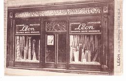 59 Lille - Léon, Lainages,draperies Soieries,29 Rue De Béthune.non Circulée, Tb état. - Lille