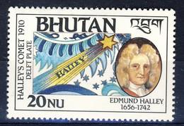 +Bhutan 1986. Halley. Michel 1002. MNH(**) - Bhoutan
