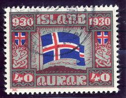 ICELAND 1930 Millenary Of Parliament 40 Aur. Used  Michel 134 - 1918-1944 Autonomous Administration