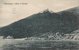 MOŠČENICE-SV.IVAN MOSCHENIZZE-ST.GIOVANNI KVARNER HRVATSKA, PC, Circulated 1908 - Croatia