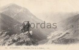 France - Le Dauphine - Vue Depuis L'Yret Sur La Vallouise - Alpinisme