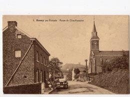 6 - BOUNY Par ROMSEE - Route De Chaudfontaine   *restaurant*voiture Peugeot* - Fléron