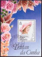 TRISTAN DA CUNHA 1995 SG #MS585 M/s 95th Birthday Of Queen Mother - Tristan Da Cunha