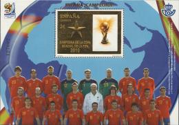 Ref. 253604 * NEW *  - SPAIN . 2010. COPA DEL MUNDO DE FUTBOL. SUDAFRICA-2010 - ESPAÑA CAMPEON - 1931-Today: 2nd Rep - ... Juan Carlos I
