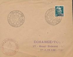 Cachet Expo France Libre, Alger (Réf Perso CCF 110) - 2. Weltkrieg