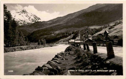 Sölden Im Ötztal Mit Nöderkogel (1466) * 8. 8. 1928 - Sölden