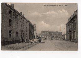 1 - NEUVILLE EN CONDROZ  -  La Place  *oblitération RELAIS* - Neupre