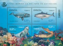 Ref. 302089 * NEW *  - SPAIN . 2013. MARINE FAUNA IN DANGER OF EXTINCTION. FAUNA MARINA EN PELIGRO DE EXTINCION - 2011-... Unused Stamps