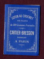 """POINT DE CROIX : PETIT ALBUM """" CARTIER-BRESSON """" - Cross Stitch"""