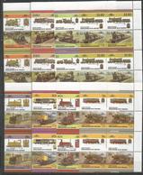4x ST.VINCENT - MNH - Transport - Trains - Locomotives - Trenes