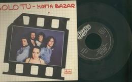 MATIA BAZAR -SOLO TU -PER UN MINUTO E POI... -DISCO 45 GIRI 1977 - Vinyl Records