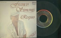 FRANCO SIMONE -RESPIRO -POETA FORSE -DISCO 45 GIRI 1978 - Vinyl Records
