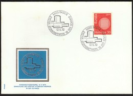 Switzerland Baden 1970 / First Nuclear Power Plant In Switzerland / Atomkraftwerk / Europa CEPT - Atome