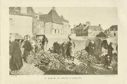 D 29 - LESNEVEN - Le Marché De Sabots - Cliché L. Henault  - Format 20cm X 29cm - Old Paper
