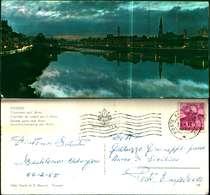 8882a)cartolina  Formato Piccolo Firenze-tramonto Sull'arno Ed.giusti Di S.becocci - Firenze