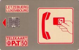 TARJETA TELEFONICA DE LUXEMBURGO. SC01-D (013) - Luxembourg