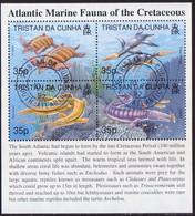 TRISTAN DA CUNHA 1997 SG #MS610 M/s Used Atlantic Marine Fauna (1st Series) - Tristan Da Cunha