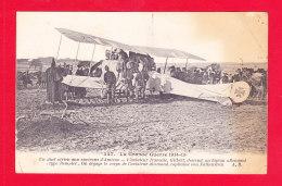 Aviation-500Ph86 Duel Aérien Aux Environs D'Amiens, Le Français GILBERT Descend Un Biplan Allemand, Von Falkenstein - 1914-1918: 1a Guerra