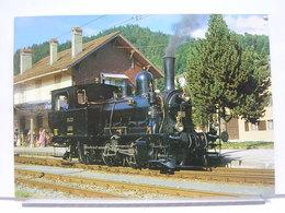 SUISSE - LOT DE 5 CARTES DE TRAIN / LOCOMOTIVE - Treni
