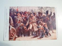 T72 Ww  NAPOLEON  Decembre  1812 Le Marechal Ney Soutenant L Arriére Garde De La Grande Armée - Militaria